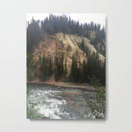 Canyon of the Yellowstone Metal Print