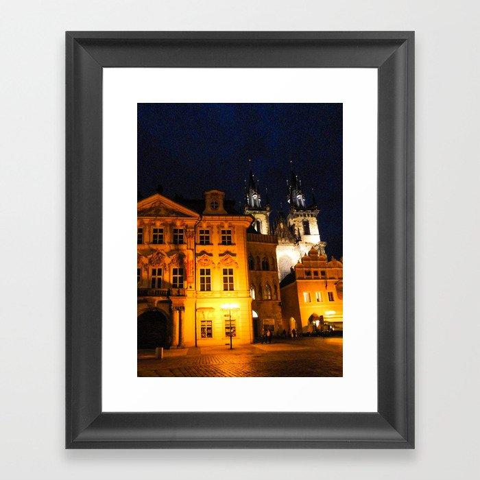 PRAGUE 2 Framed Art Print