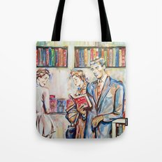 Vintage boy Tote Bag