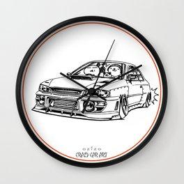 Crazy Car Art 0195 Wall Clock