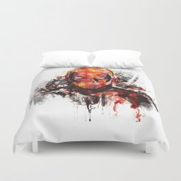 dead one Duvet Cover