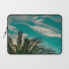 Palms on Turquoise - II Laptop Sleeve