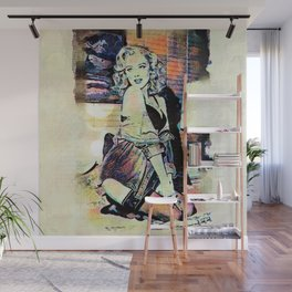 By Lamplight Wall Mural
