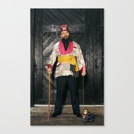 Rein It In - Smoking Stanton Canvas Print