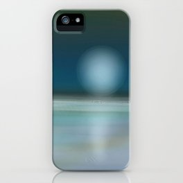 beach night  iPhone Case