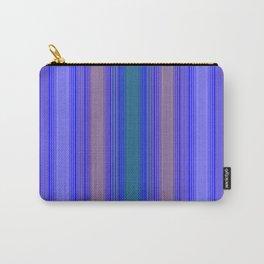 mediterranean stripe Carry-All Pouch