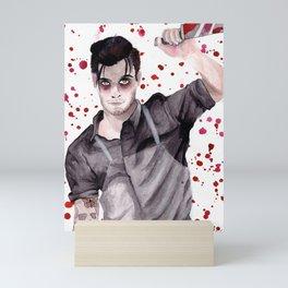 Butcher Boyfriend Mini Art Print