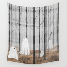 The Woods are full of Ghosts Wall Tapestry