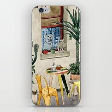 Cats Cacti and a Dog iPhone & iPod Skin