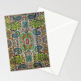 Kashmir on Wood 03 Stationery Cards