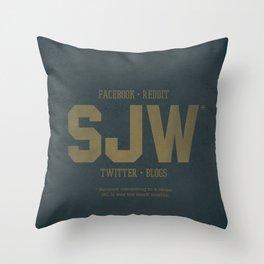 SJWs Throw Pillow