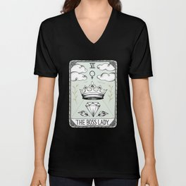 The Boss Lady Unisex V-Neck