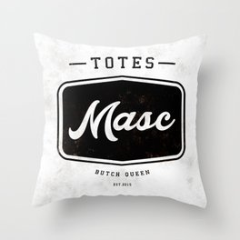 Totes Masc - Vintage Throw Pillow
