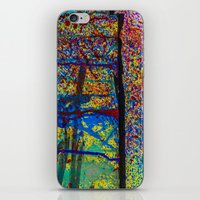 chaos iPhone & iPod Skins featuring Chaos by Claire Doherty