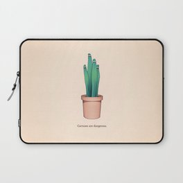 Cactuses Are Dangerous Laptop Sleeve