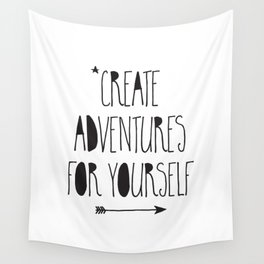 Adventures Wall Tapestry