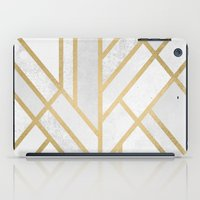 deco iPad Cases featuring Art Deco Geometry 2 by Elisabeth Fredriksson