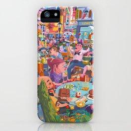 Terace BP soft colors iPhone Case