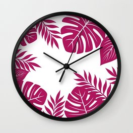Paradise in Wine Wall Clock