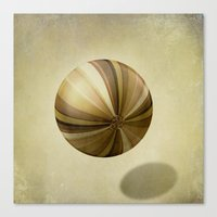 dragon ball Canvas Prints featuring Ball by SensualPatterns