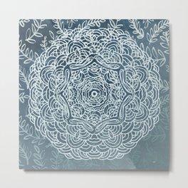 Zen Mandala Metal Print