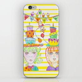 Happy Birthday monkey iPhone Skin