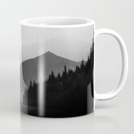 Dusky Mountains Coffee Mug