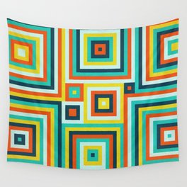Be Squared! Wall Tapestry