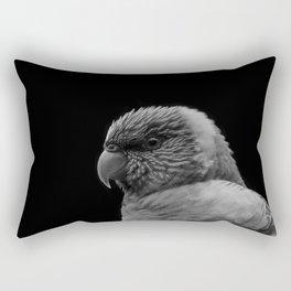 Lorikeet B&W Rectangular Pillow