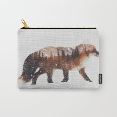 Arctic Red Fox Carry-All Pouch