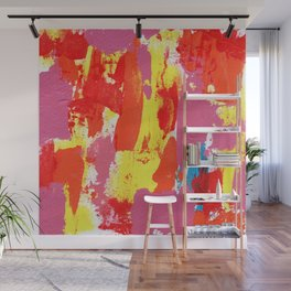 Abstract Expression #7 by Michael Moffa Wall Mural