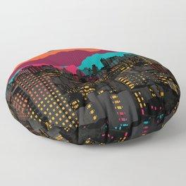 Fragmented III VI Floor Pillow