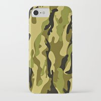 army iPhone & iPod Cases featuring ARMY by Sophie