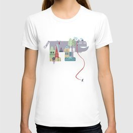walking beast T-shirt