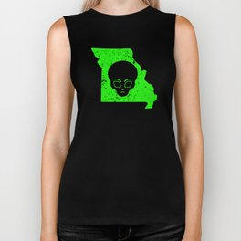 UFO Hunting Abduction Extraterrestrial Archaeology Missouri Biker Tank
