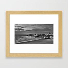 View across Tenby Harbour Framed Art Print