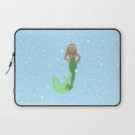Sloth Mermaid Laptop Sleeve