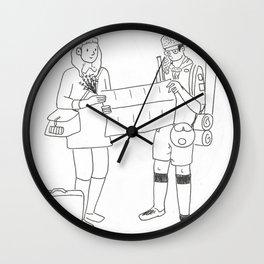 Dear Suzy Wall Clock