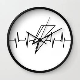 Bowie Heartbeat Wall Clock