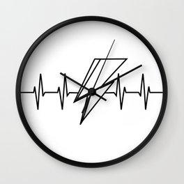 Bowie Heartbeat Wall Clock