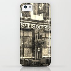 The Sherlock Holmes pub Vintage iPhone 5c Slim Case