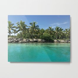Tropical Waters Photograph Metal Print