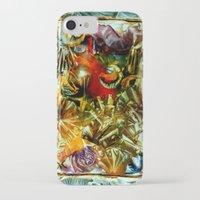 metallic iPhone & iPod Cases featuring Metallic by Vargamari