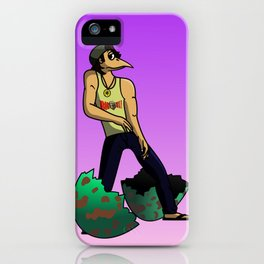 The Num Nums - Randy Just Has To Dance iPhone Case