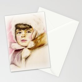 Pastel Drawing of Janie Stationery Cards