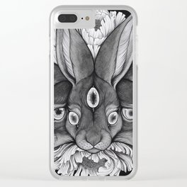 Visions Clear iPhone Case
