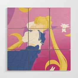 Sailor Moon Sweet Dreams Wood Wall Art