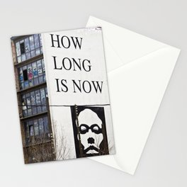 HOW LONG IS NOW - EAST BERLIN Stationery Cards
