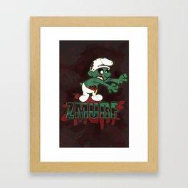 Zmurf Framed Art Print