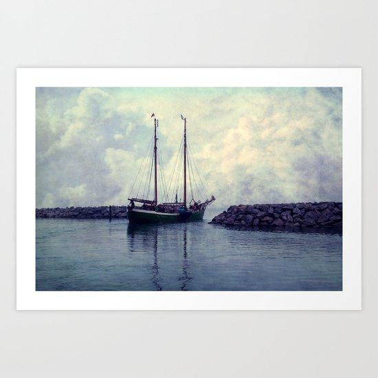 Ahoi Art Print
